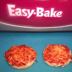 Easy Bake Oven English Muffin Pizza recipe