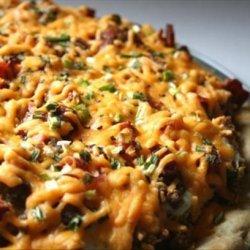 The Broads' and the Bonn's White Trash Breakfast Pizza recipe
