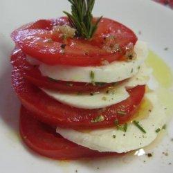 Mozzarella & Tomato Stacks With Rosemary recipe