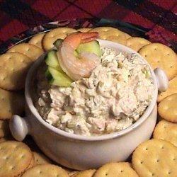 Cucumber Shrimp Spread recipe