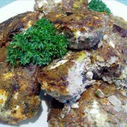 Greek Feta and Olive Meatballs recipe