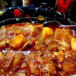 Chicken Stew  With Tomatoes Tonight! recipe