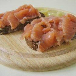 Salmon Trilogy (Part II): Gravad Salmon recipe