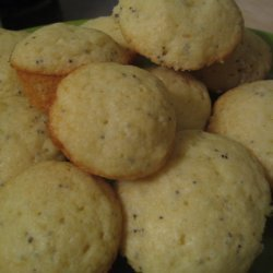 Poppy Seed Pound Cake Muffins recipe