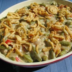 Green Bean Casserole With Bacon and Wine recipe