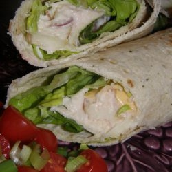 Weight Watchers 4 Pt Chicken Salad Wrap recipe