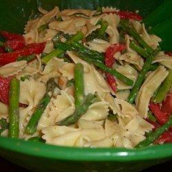 Fresh Tomato-Basil-Asparagus Pasta Salad recipe