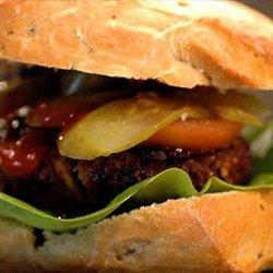 Grilled Teriyaki Pork Burgers recipe