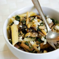 Penne With Mushrooms recipe