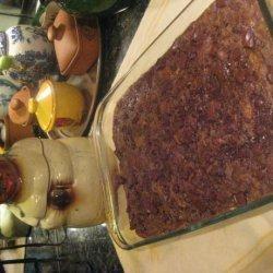 Triple Chocolate Bread Pudding recipe
