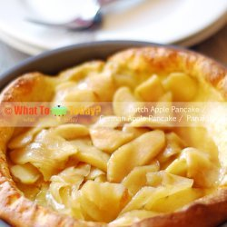 German Apple Pancakes recipe