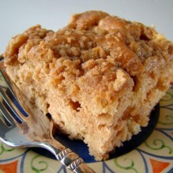 Apple Coffee Cake With Crumble Topping recipe