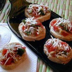 Mama Mia Artichoke and Tomato Bruschetta recipe