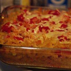Low Fat Pesto Baked Ziti recipe