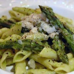 Penne With Asparagus-lemon Sauce recipe
