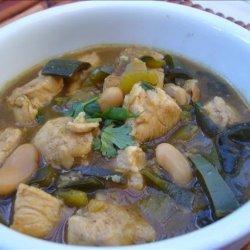 Lean Green Chicken Chili recipe