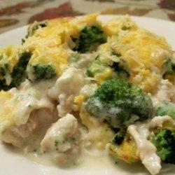 Chicken Broccoli Cheesy Casserole recipe