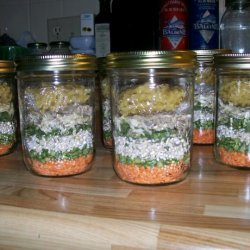 Minestrone Soup Gift Mix in a Jar recipe