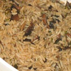 Mushroom and Rice Casserole recipe