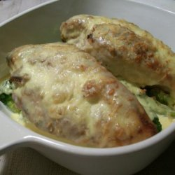 Chicken Breasts and Broccoli With Madeira Sauce recipe