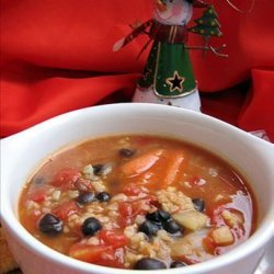 Vegetable Soup on the Double recipe