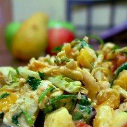 Apple & Mango Curried Chicken Salad recipe