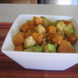 Roasted Butternut, Apple & Pecan Salad recipe