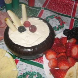 Easy Cheesy Fruit Dip recipe