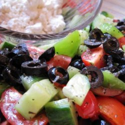 Marinated Greek Village Salad recipe