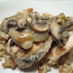 Spanish Style Chicken (Grilled With Raisin Wine Sauce) recipe