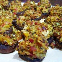 Stuffed Mushroom Appetizers recipe