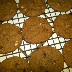 Nutella Almond Cookies recipe