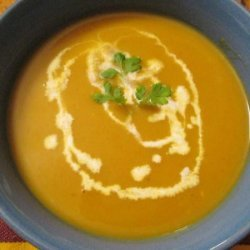 Carrot and Squash Curry Soup recipe