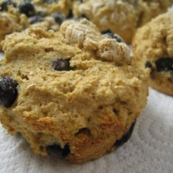 Fat Free, Sugar-Free Whole Wheat Blueberry Muffins recipe