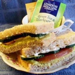 Avocado Tea Sandwiches recipe