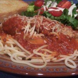 Don's Favorite Spaghetti Sauce recipe