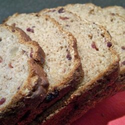 Healthy Cranberry Walnut Bread recipe
