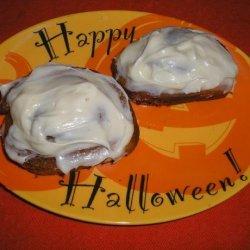 Pumpkin Cinnamon Rolls With Cream Cheese Icing recipe