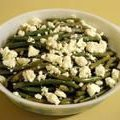 Garlic Green Beans With Manchego recipe