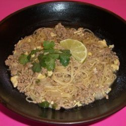Filipino Pork & Noodle Soup recipe