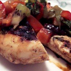 West Coast Chicken with Kiwi Salsa recipe