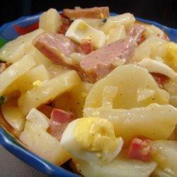 Hot Potato Salad With Kielbasa recipe