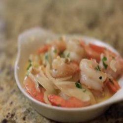 Shrimp Scampi With Spinach recipe