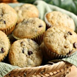 Healthy Banana Chocolate Chip Muffins recipe