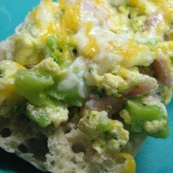 Broccoli and Egg Sandwich recipe