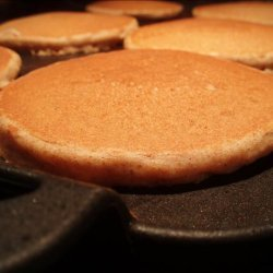 Whole Wheat Buttermilk Pancakes (With Wheat Germ) recipe