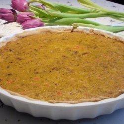 Mom's Homemade Pumpkin Pie recipe
