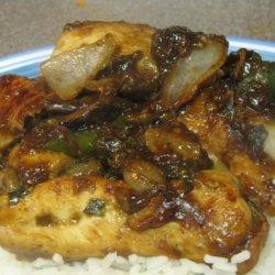 Chicken With Mushrooms (Moo Goo Gai Pin) recipe