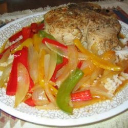 Pork chops and peppers recipe