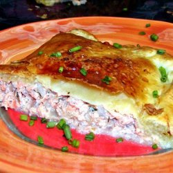 Salmon in Puff Pastry recipe